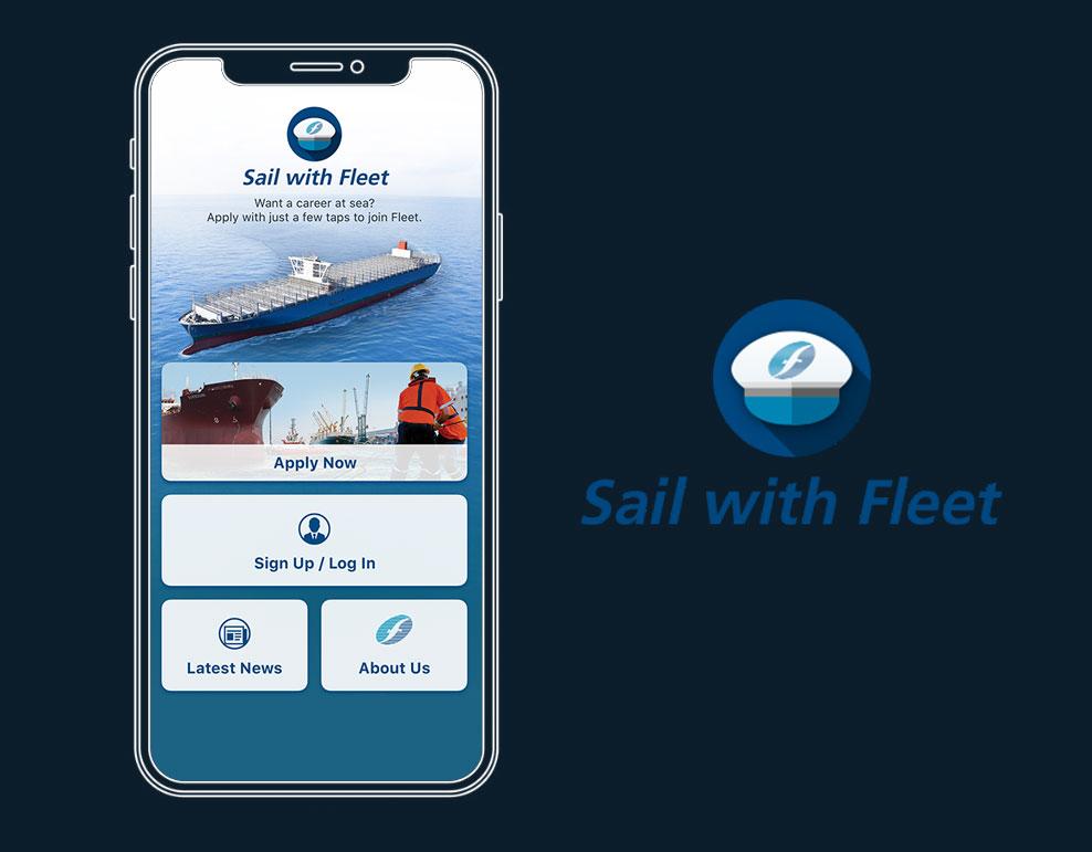 Fleet launches a new app – Sail with Fleet