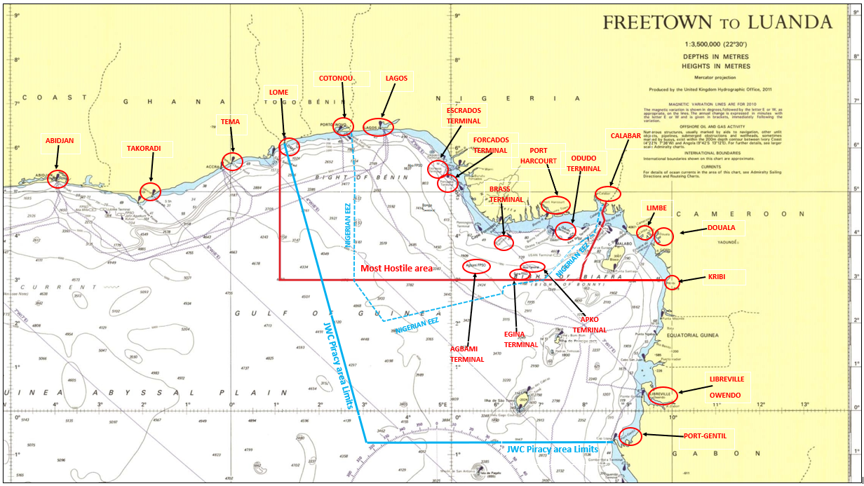 Behind Enemy Lines! Piracy in West Africa