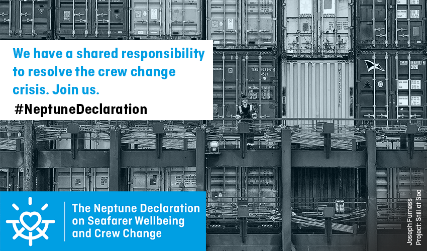 The Caravel Group and Fleet Management sign the Neptune Declaration in a bid to resolve the crew change crisis